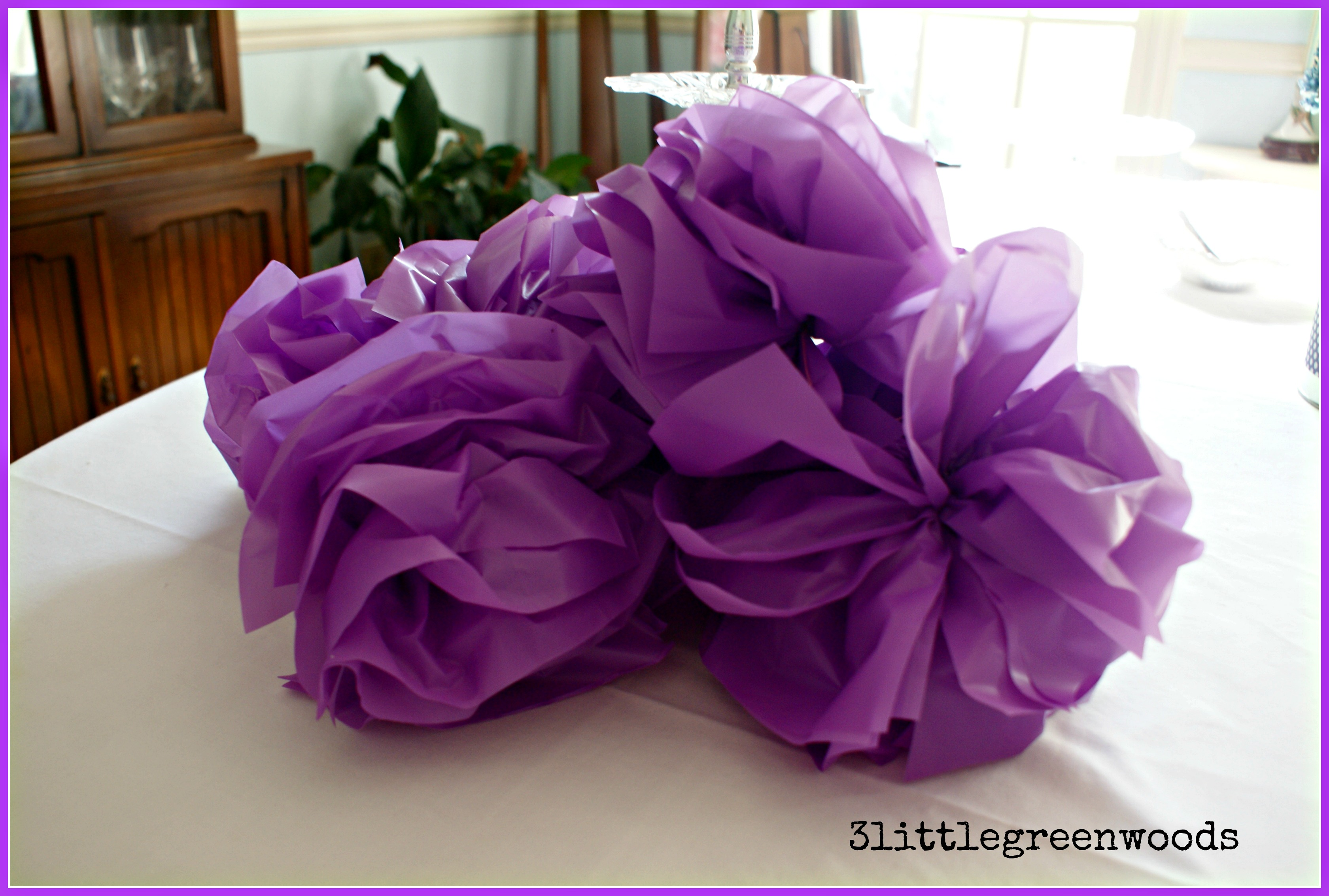 How To Make Party Pom Poms Sofia The First Party On A Budget