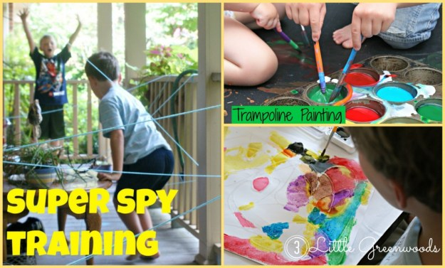 summer activities Collage