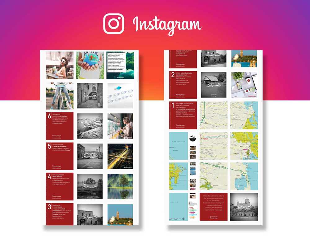 Grafica Social Network Mappe per Hotel - mappe personalizzate - thiswaymaps
