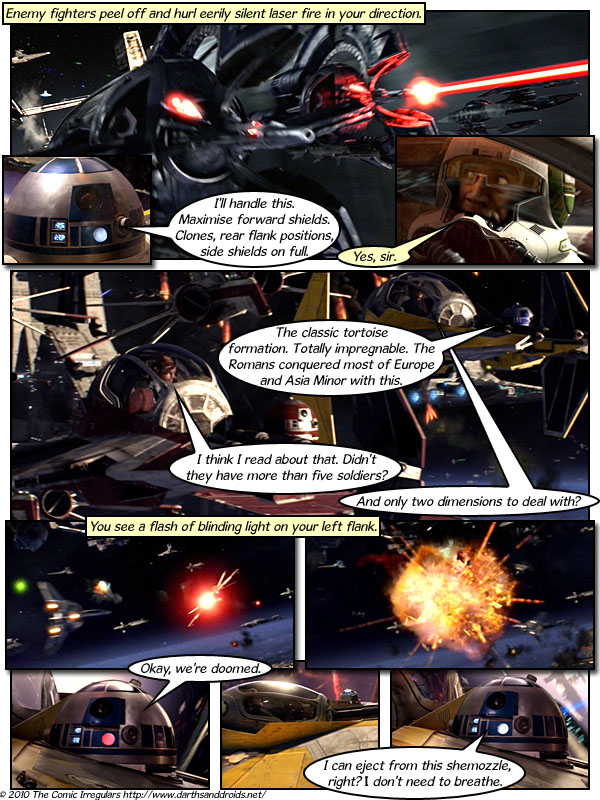 Darth And Droids Comic Darths Droids Webcomic 3 Million Years 3 million years