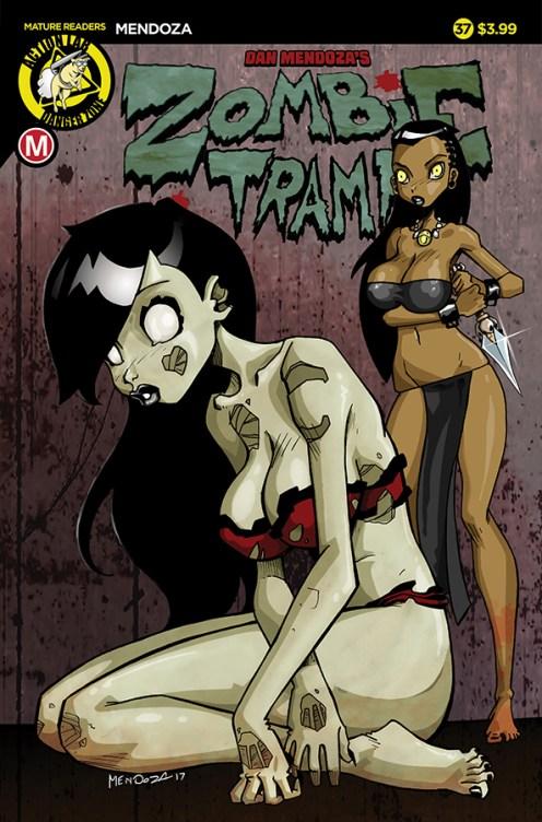 Zombie Tramp #37 Cover A Mendoza