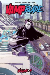 Vampblade Volume 4 Cover