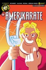 AmeriKarate #8 Cover D Dave Perillo Wolvarate