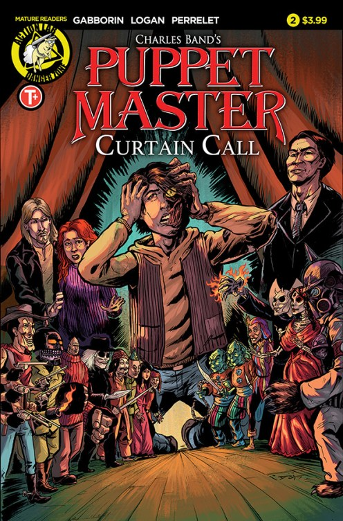 Puppet Master Curtain Call #2 Cover A