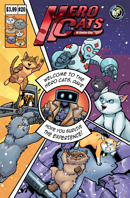 Hero Cats #20 Cover