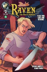 Raven Year 2 #3 Cover