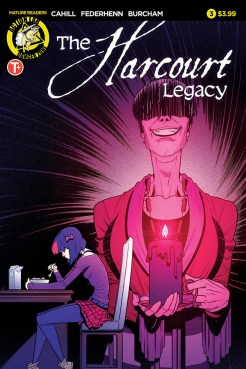The Harcourt Legacy #3 Cover A