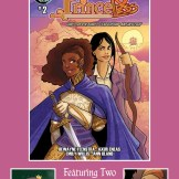 Princeless Charity Anthology #1 What's Coming Next Issue