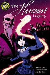 The Harcourt Legacy TPB Cover