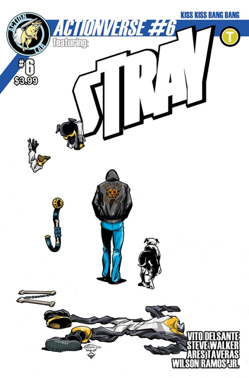 Actionverse #6 featuring Stray Cover A