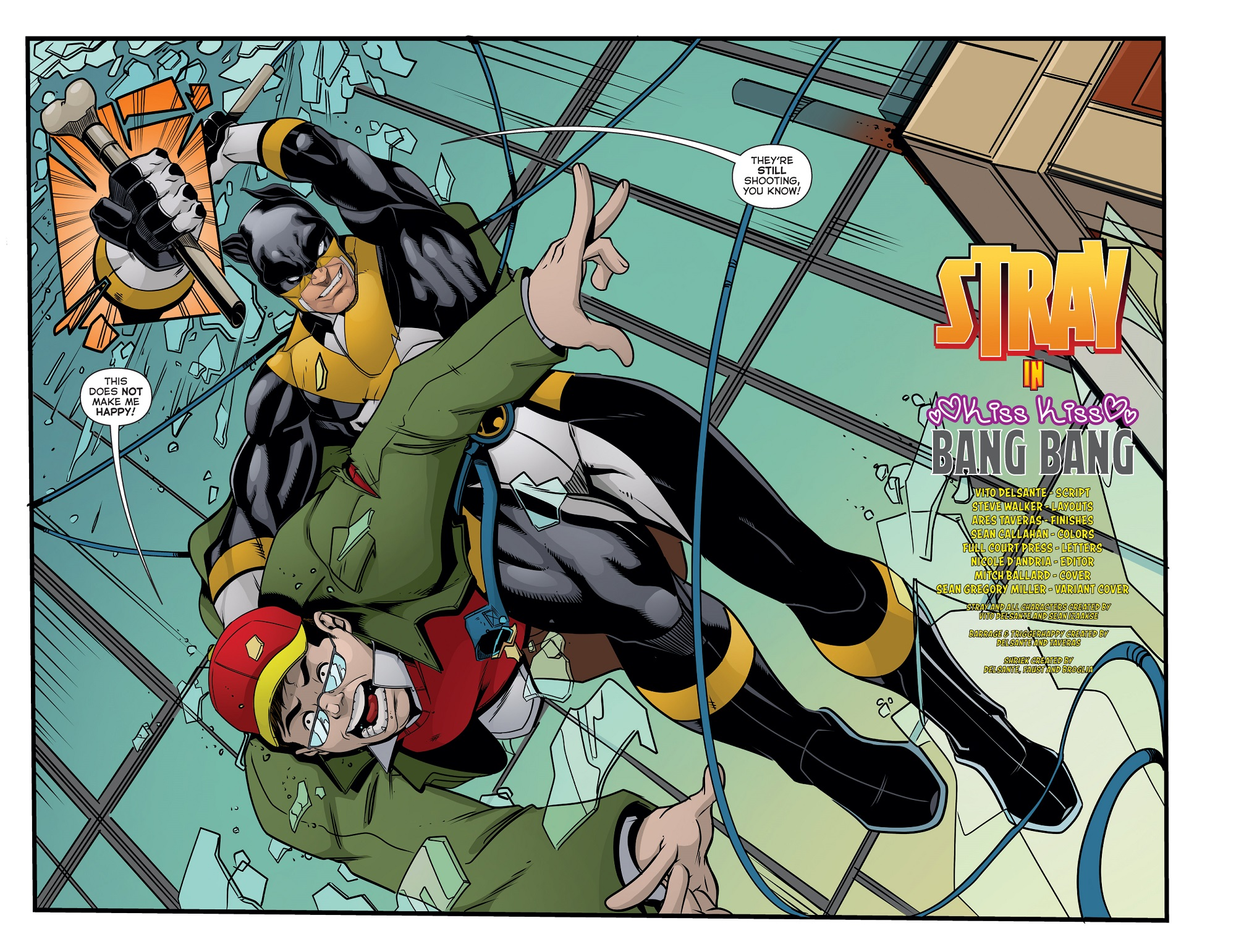 Actionverse #6 featuring Stray Page 2-3