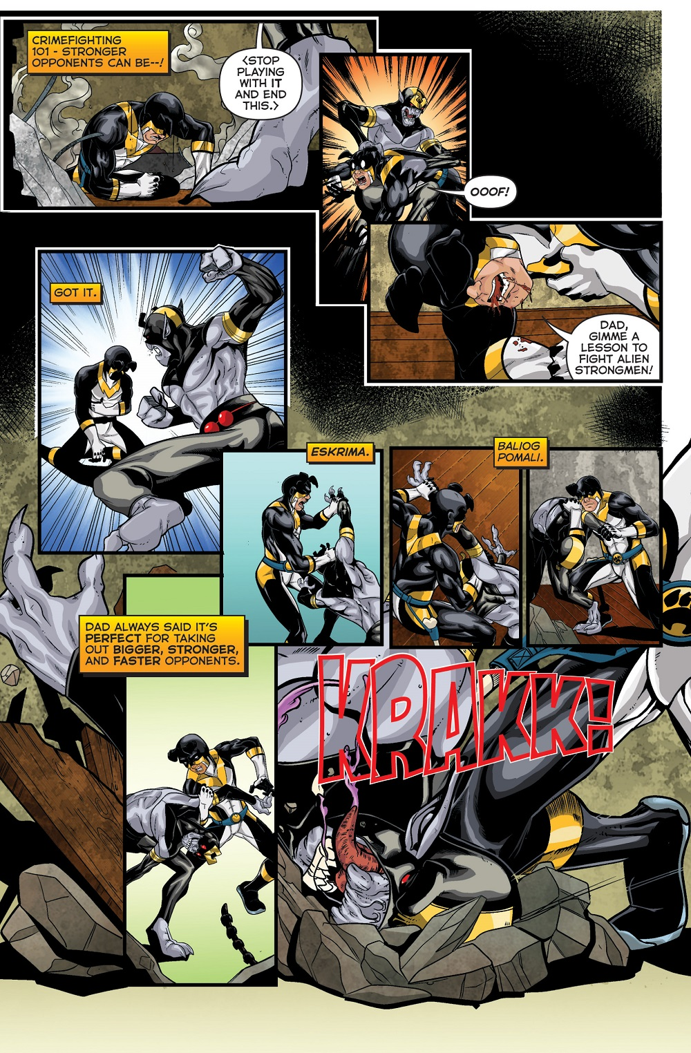Actionverse Featuring Stray Volume 1 #4 Page 5