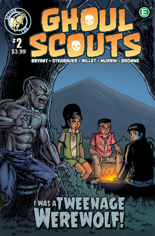 Ghoul Scouts Volume 2 #2 Cover