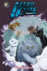 Hero Cats Volume 7 Season Finale Cover