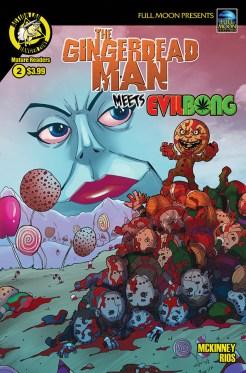 Gingerdead Man Meets Evil Bong #2 Cover A