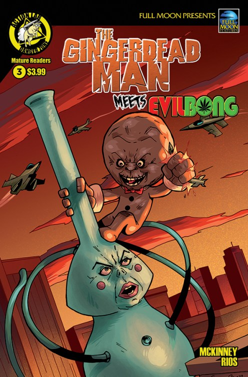 Gingerdead Man Meets Evil Bong #3 Cover A