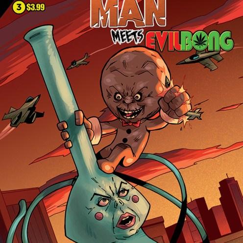 Gingerdead Man Meets Evil Bong #3 Cover A