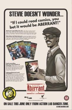 Aberrant - Stevie Wonder Ad (June)