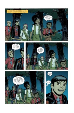 Ghoul Scouts Volume 2 #4 Page 1