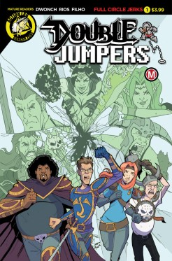 Double Jumpers Full Circle Jerks #1 Cover A