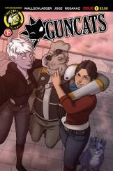 Guncats #1 Cover