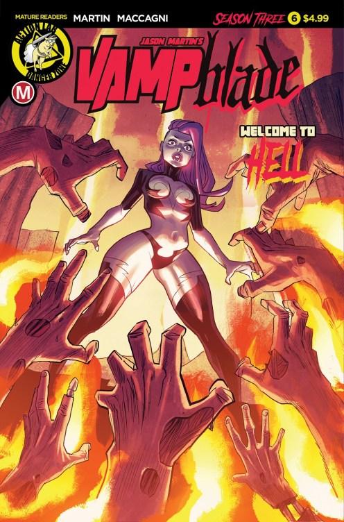 Vampblade Season 3 #6 Cover A