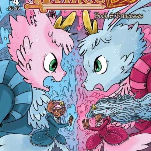Princeless Book 8 #4 Cover