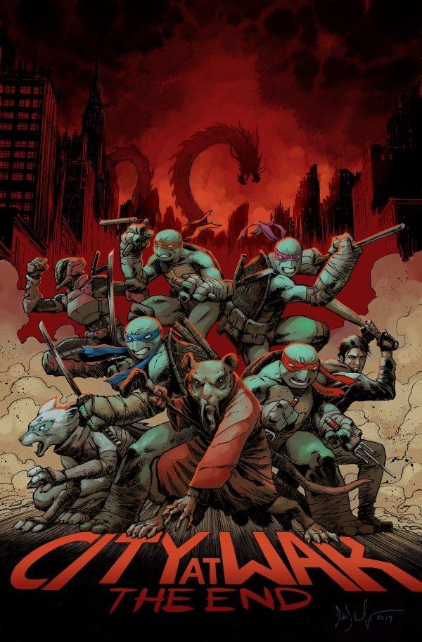 Teenage Mutant Ninja Turtles #100