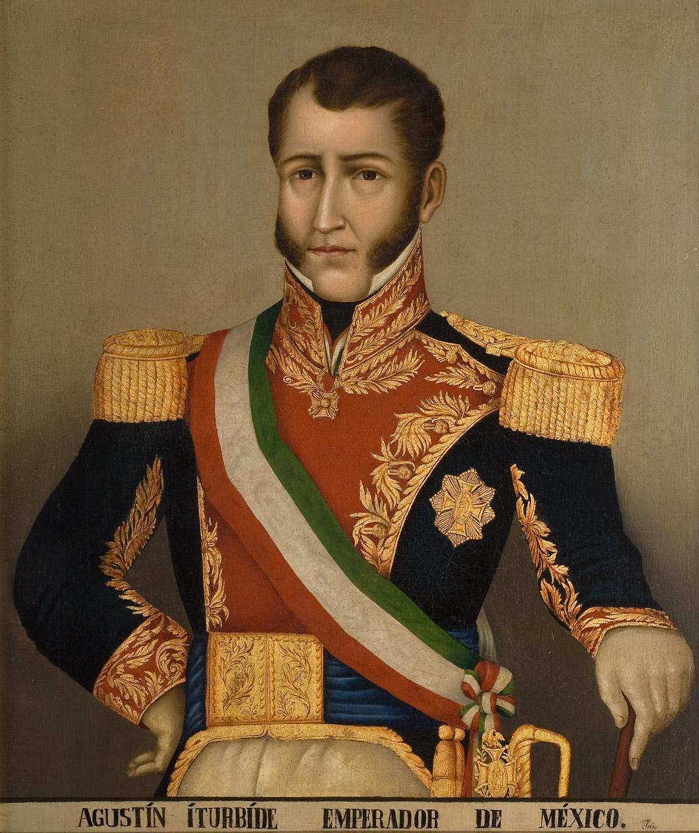 Retrato de Agustín De iturbide