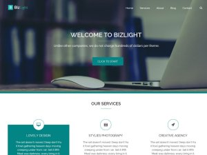 free SEO friendly WordPress theme