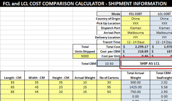 Cost Comparison Calculator