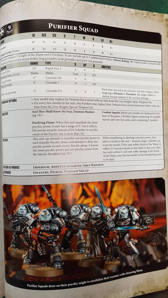 grey knights codex 2017 pdf