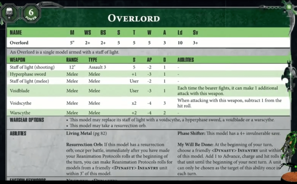 Necron 8th Edition Codex: Leak Compilation - The Blood of Kittens