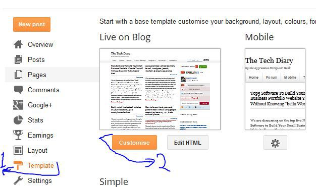 add newsletter to after post text on blogger