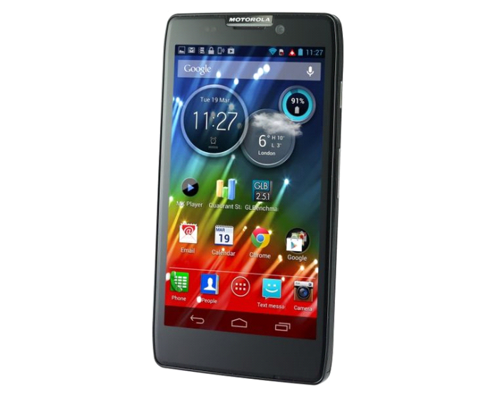 MOTOROLA RAZR HD review and specification