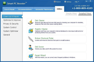 Smart PC Booster tool