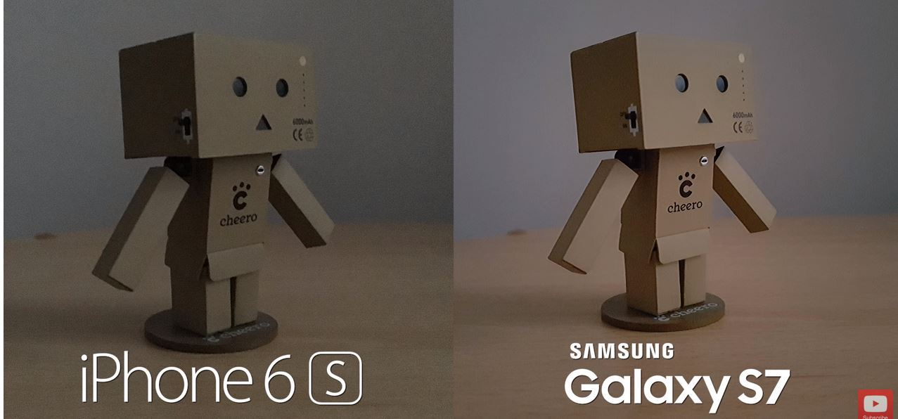 IPhone6s and Samsung s7