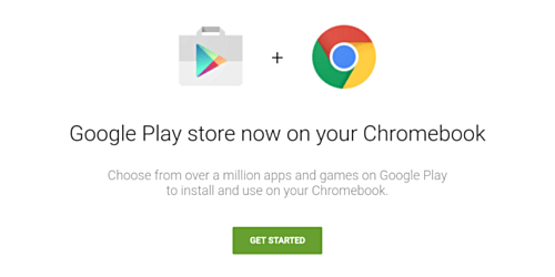 Chromebook and playstore