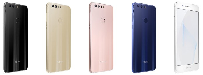 Honor 8 Different Colors