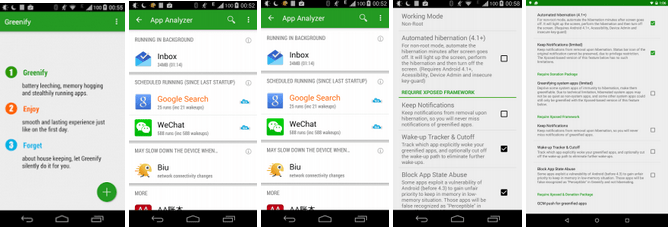Greenify batter saver app for Android