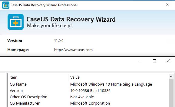 EaseUS data recovery software tutorials