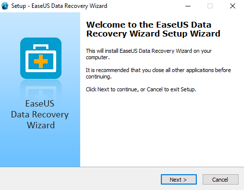 How to Install Easeus Data recovery tool
