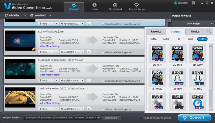 video converter tool from wondershare