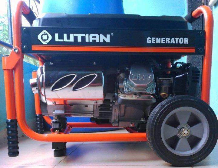Lutian gasoline generator review and price in Nigeria