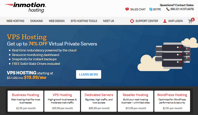 Inmotion hosting is a decent 1and1 hosting alternative