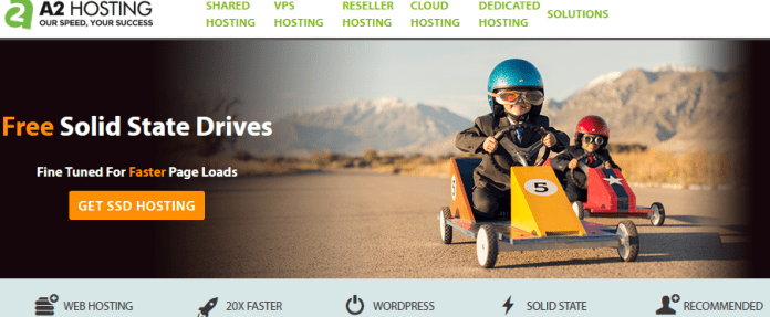 a2 hosting: among top 1and1 hosting alternatives