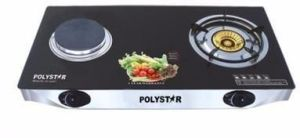 Polystar Table Gas Cooker + Electric - PV-G2HP1