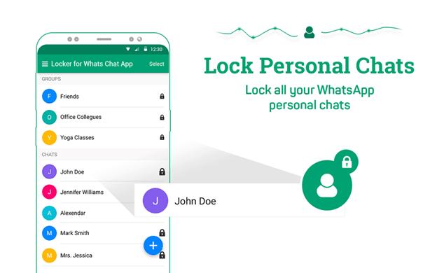 Locker for Whatsapp messaging App review 2018