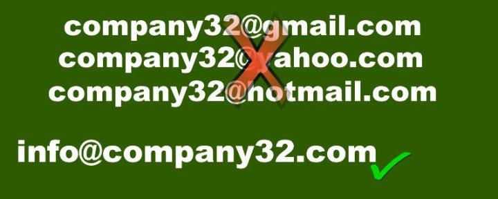 custom domain name email creation service