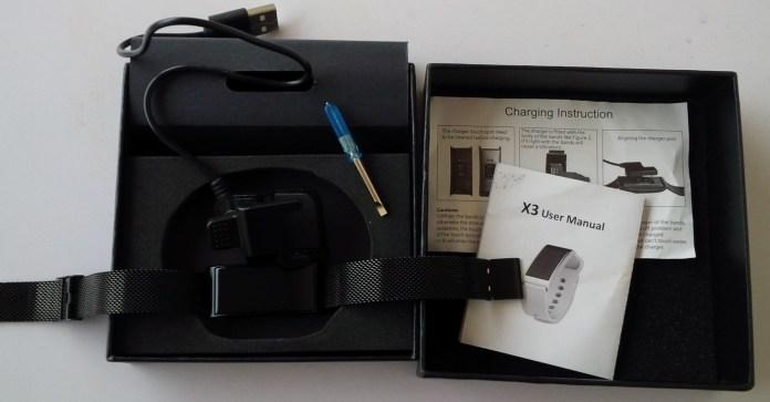 Diggro X3 Waterproof Smart Bracelet Unboxing